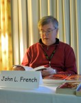 Author John L. French reading, Feb 23
