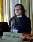 Author Keith R. A. DeCandido reading, Feb 23