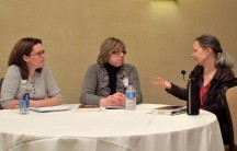 Panel: Influences on Writing with Andi Newton, Teresa Frohock & Diana Bastine, Mar 1