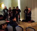 Demonstration of Futuristic Swordfighting, Mar 2