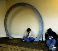 Stargate in the hall, Mar 2