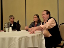 Panel: Endings - How Do They Work with Karen McCullough, Debra Killeen & Eric Flint, Mar 2