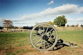 Cannon at Gettysburg - photo courtesy of Ann Kuni