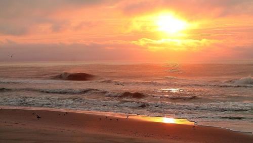 Sunrise at Long Beach Island, New Jersey, July 29, 2013