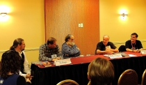 Panel: Writing Science Fiction for Young Adults with Thomas Willeford, Ty Drago, Bill Spangler, Michael J. Friedman & E. C. Myers (Sept 9)