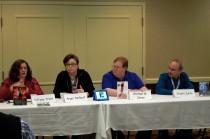 Panel: The Evolution of YA Literature with Tiffany Trent, Angie Smibert, Michael M. Jones, and Stuart Jaffe, Feb 21