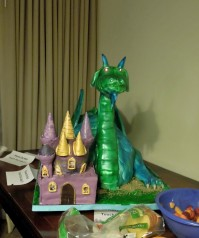 The Con Dragon Cake, Feb 21