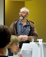 Scott Nicholson presenting Nurture Your Inner Hack - The Best Way to Get Your Story Down, Mar 21