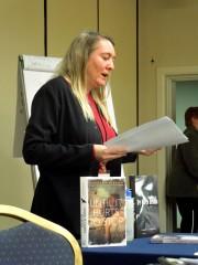 Jennifer Hubbard presenting Teen Voices - Writing YA, Mar 22