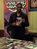 Anthony Montgomery in the Dealers' Room, 5-31-14