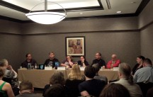 124 - Panel - The Art of the Anti-Hero with Jim Bernheimer, J. F. Lewis, Alexandra Christian, Tamsin L. Silver, Michael G. Lewis, Allen Wold & Emily Lavin Leverett, 5-31-14