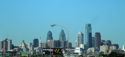 31 - Center City Philadelphia from I-95, 6-7-14