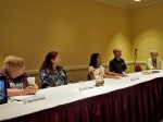 Panel: The Writing Life with Alexandra Christian, Glenda C. Finkelstein, Marcia Colette, Les Johnson & Faith Hunter, 7-12-14