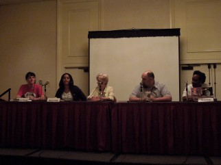 Panel: Urban Fantasy - Future of the Genre with Sharon Stogner, Marcia Colette, Faith Hunter, Larry Correia & Nicole Givens Kurtz, 7-12-14