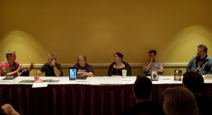 Panel: Every Villain Is a Hero with Edmund Schubert, Tony Ruggiero, Alexandra Christian, Emily Lavin Leverett, A. J. Hartley & John Hartness, 7-12-14
