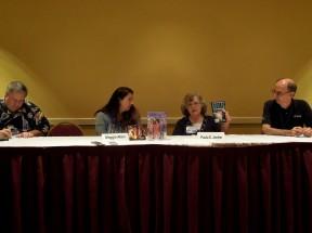 The NASA Panel  with Tedd Roberts, Maggie Allen, Paula S. Jordan & Les Johnson, 7-12-14