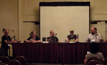 Panel: Subverting the Trope with Tony Ruggiero, Paula S. Jordan, Stuart Jaffe, Rhonda Oglesby & Larry Correia, 7-13-14