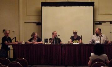 Panel: Subverting the Trope with Tony Ruggiero, Paula S. Jordan, Stuart Jaffe, Rhonda Oglesby & Larry Correia, 7-13-14