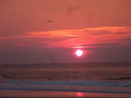 Sunrise, Long Beach Island, NJ (8-1-14)