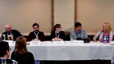 "Panel: ""Fantasy World Building"" with R. S. Belcher, Michael A. Ventrella, Liz Long, Steven S. Long, Gail Z. Martin, 2-27"