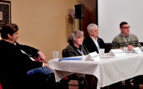 "Panel: ''What If'' Moments in History"" with Jarod Kearney, Paula S. Jordan, Jim Beall, and Tally Johnson, 2-27"