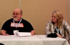 Peter David and Gail Z. Martin on The Eye of Argon panel, 2-27
