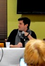"Media Guest of Honor Sean Maher answers questions at the ""You Can't Stop the Signal"" Panel, 2-28"