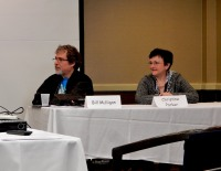 52 - Bill Mulligan and Christine Parker on the Kill Your Darlings panel, 3-1