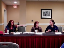 Panel: Researching Your Costume - Historical, SF, Fantasy, or Steampunk with Heidi Hooper, Kirsten Vaughan, and Caitlin Hammer, 4-25