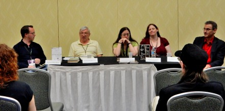 Panel: Why Science Fiction Matters with David Walton, Jack McDevitt, Jennifer R. Povey, Emily Lavin Leverett, and Stephen L. Antczak, 4-25