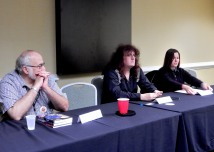 Panel: Plotting and Pacing a Short Story with Lou Antonelli, Warren Lapine, and Kristin Mehigan, 4-25