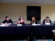 Panel: The Villain's Journey with D. Alexander Ward, Emily Lavin Leverett, Jean Marie Ward, and Kate Paulk, 4-25