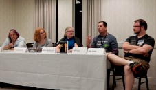 Panel: What Genre Is This Anyway with Melissa Scott, Hildy Silverman, Karen Newton, Jeff Young, and Alex White, 5-22