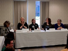 Panel: Matrons and Crones - Older Female Characters in Fantasy & Science Fiction with Paula S. Jordan, Gail Z. Martin, Karen Burnham, Sarah Pinsker, and Virginia DeMarce, 5-23