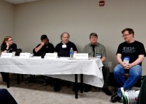 Panel: The Role of Science in Science Fiction with Karen Burnham, Clint Gaige, Eric S. Raymond, Dr. Charles E. Gannon, and Ken Burnside, 5-23