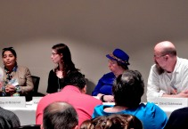 Panel: Working with Others' Myths with Day Al-Mohamed, Katie Bryski, Jo Walton, and David Sobkowiak, 5-23