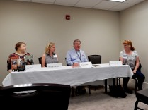 Panel: Public Speaking for Writers with Joy Ward, Denise Clemons, Gary L. Lester, and Judi Fleming, 5-24