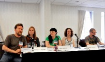 Panel: How to Do a Blog Tour with Tee Morris, Melissa L. Hayden, Starla Hutchinson, Maria V. Snyder, and Russ Colchamiro, 5-24