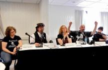 Panel: WordPress 101 with Allison Gamblin, Mark Kilfoil, Hildy Silverman, Dave Robinson, and Steven H. Wilson, 5-24