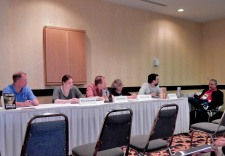 Panel: Death of Characters - Story Progression or Authorial Sadism with Chris Kennedy, Emily Lavin Leverett, Darin Kennedy, Paula Jordan, Jonathan French, and Michael Stackpole, 7-11