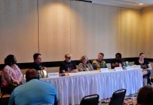 Panel: Writing the Other with Alicia McCalla, Randy Richards, Stephen Mark Rainey, Paula S. Jordan, Edmund Schubert, Nicole Givens, Kurtz, and Emily Lavin Leverett, 7-12