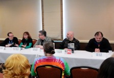 """Panel: """"Beta Readers and their Authors"""" with James Fulbright, Tera Fulbright, Rob Balder, R. S. Belcher, and Bob Flack, 2-27"""