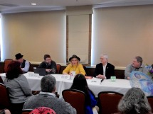 """Panel: """"The Science & Psychology of Andy Weir's 'The Martian'"""" with Gray Rinehart, Daniel Wallace, Anita Allen, Jim Beall, and Tedd Roberts, 2-27"""