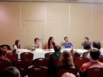 "Panel: ""SciFi, Fantasy & Horror are My Life, but This Other Stuff is Cool Too"" with Nicole Zoltack, Anthony St. Clair, Emmy Jackson, Anthony St. Clair, and Seth Banner, 2-27"