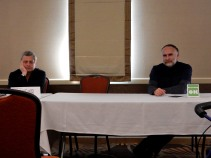 """Panel: """"Copyright and Its Discontents"""" with Tony Daniel and Greg Porter, 2-28"""