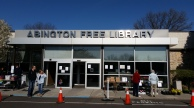 Abington Free Library - a favorite haunt of writers