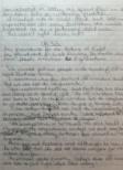 Handwritten page blurred