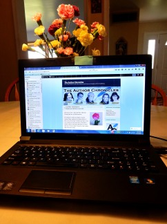 The Author Chronicles - Top Picks Thursday - writing - laptop - Mother's Day flowers