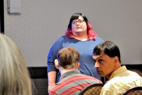 Building a Digital Brand workshop with Cecily Kellogg at the Philadelphia Writers' Conference, 6-11