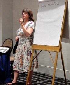 How a Poem Should Be with Alison Hicks at the Philadelphia Writers' Conference, 6-11